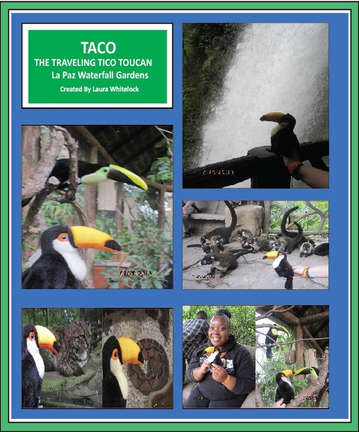 Taco is Traveling again to La Paz Waterfall Gardens!