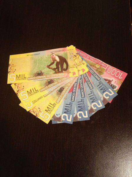 money in costa rica