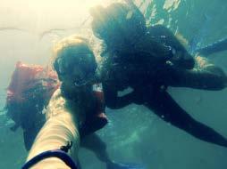 Snorkeling in the Manuel Antonio bay. We even saw sea turtles!