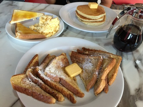 Mary's Diner: French toast